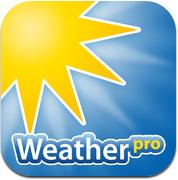 WeatherPro iPhone de weer app