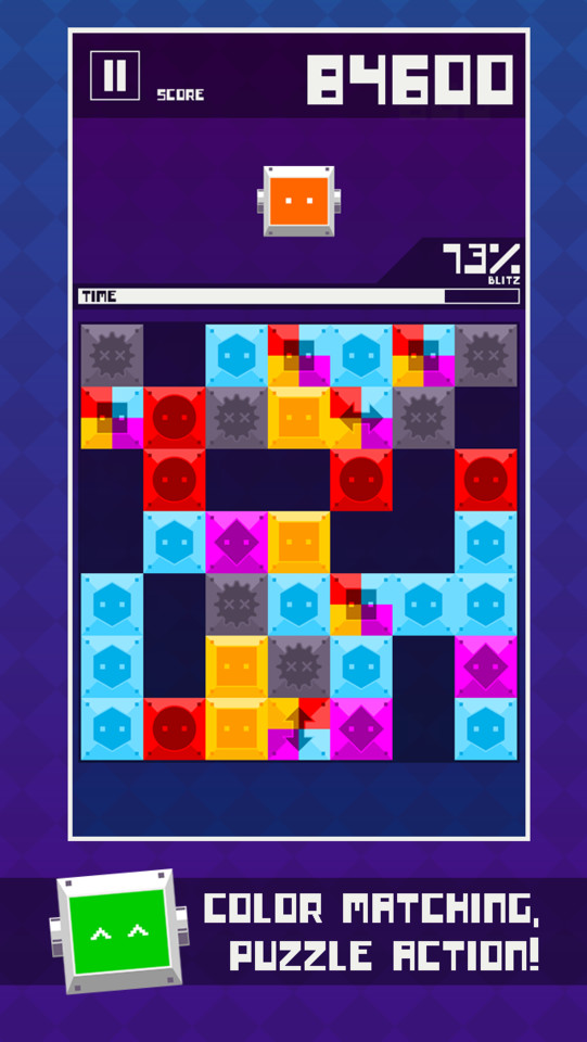 GU DI Blitz Block Robo iPhone iPad