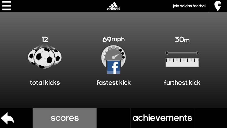 Adidas Snapshot instellingen