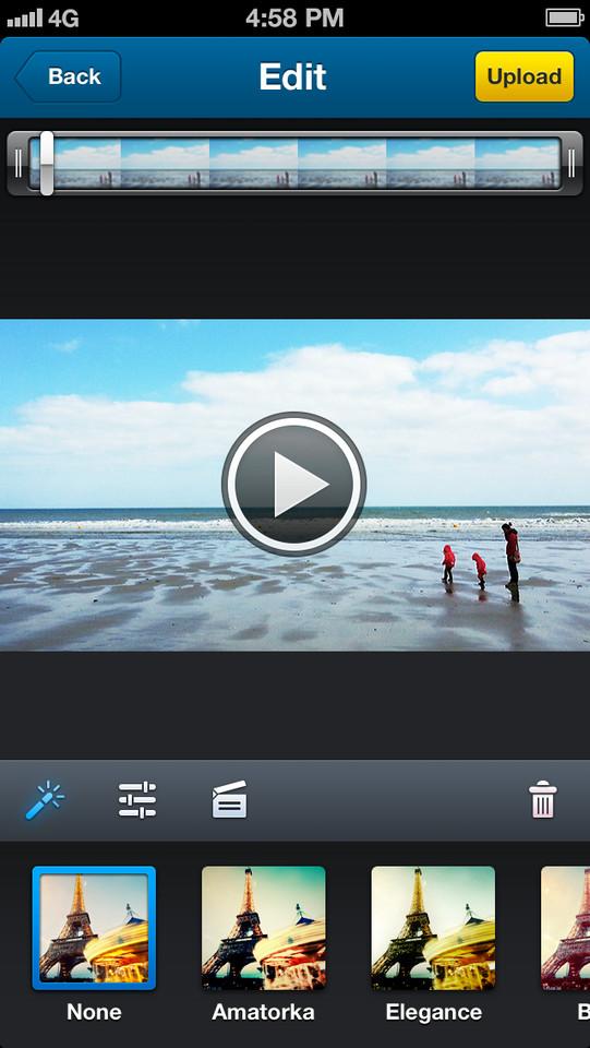 Dailymotion Camera kleurenfilter toepassen
