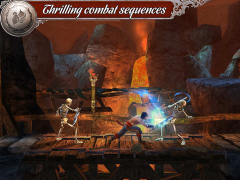 Prince of Persia gevechten op iPad iPhone