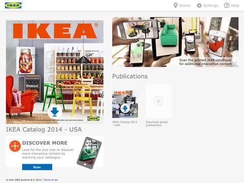 IKEA Catalogus iPad iPhone header