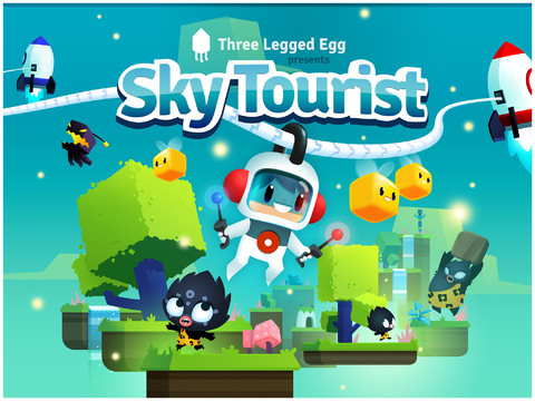 Sky Tourist iPad iPhone platformspel