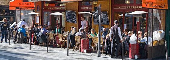 iPhone restaurants zoeken buitenland