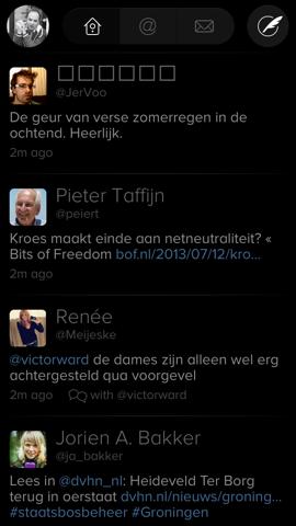 Twitterrific iOS 7 klaar qua design