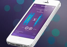 Splyce muziek-dj iPhone met Philips Hue