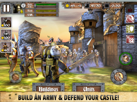 ICD Heroes and Castles iPad iPhone