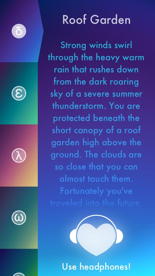 Thunderspace Roof Garden onweer dichtbij
