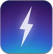 Onweersbui op iPhone onweer Thunderspace