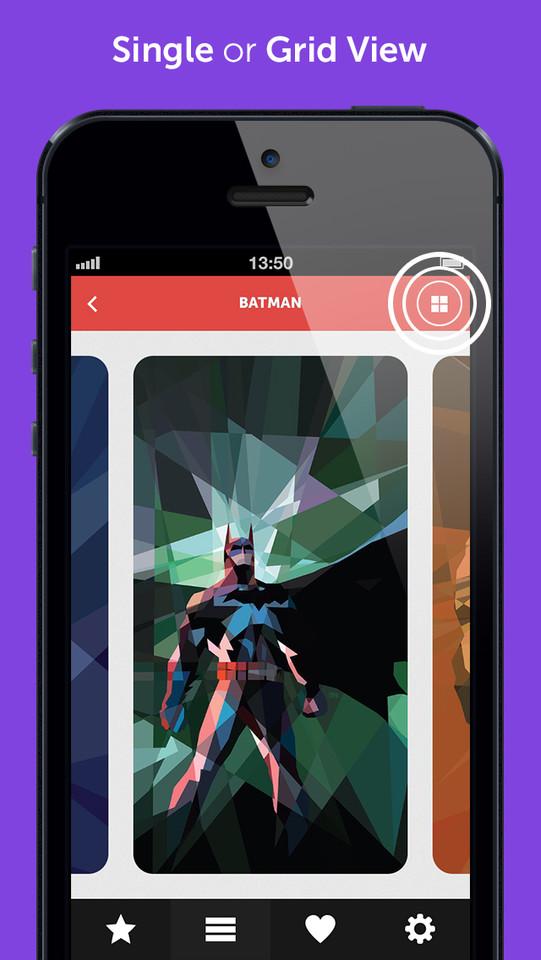 Batman iPhone-wallpaper achtergrond Wallpapr