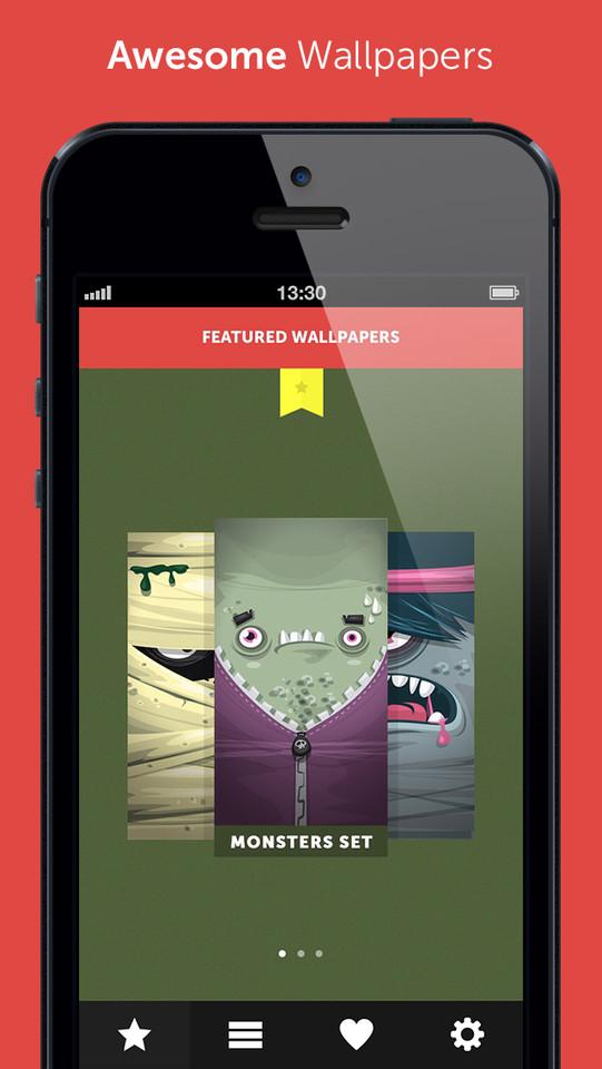 Wallpapr uitgelichte iPhone-achtergronden
