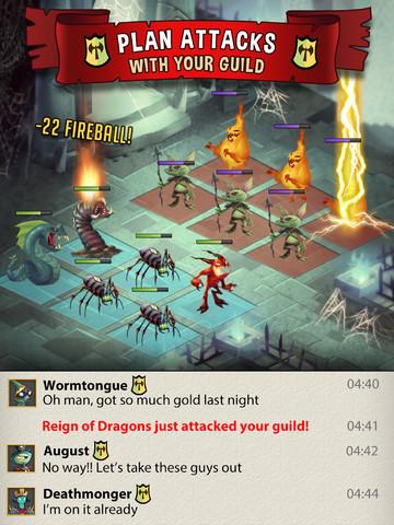 GU MA The Dark Lords of War iPad iPhone
