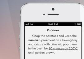 Paragraphs schrijfapp iPhone