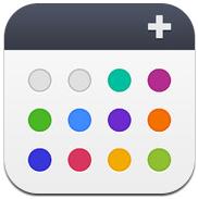 Agenda Calendar 4 iPhone agenda-app met swipes