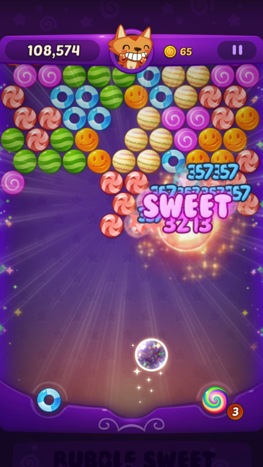 GU WO Candy Bubble Blitz iPhone iPad