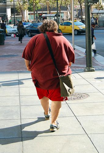 Een dik persoon