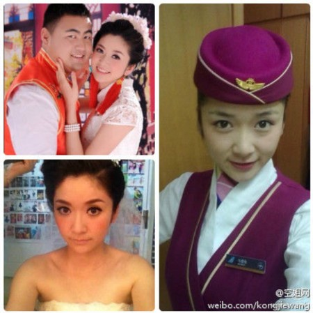 chinese stewardess