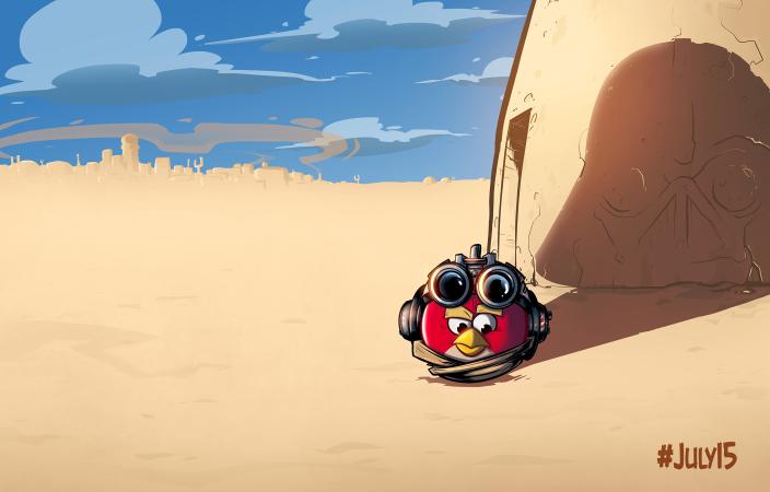 GU VR Star Wars Angry Birds II Anakin
