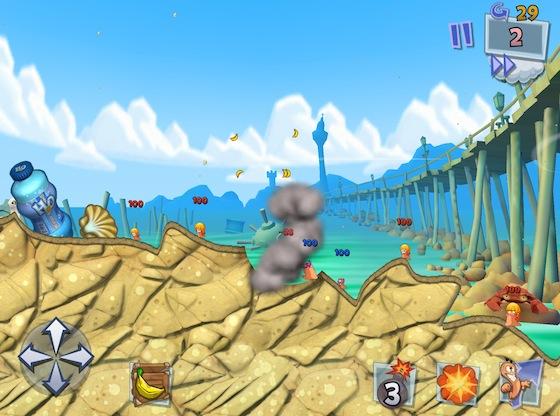 Worms 3 screenshot