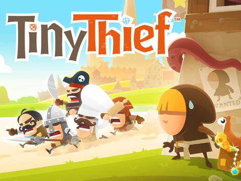 Tiny Thief iPad iPhone header