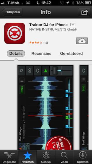 iCloud-knopje App Store