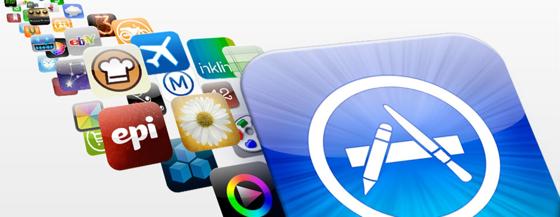 App Store 5 jaar uit hoeveel apps