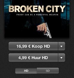 Broken City iTunes