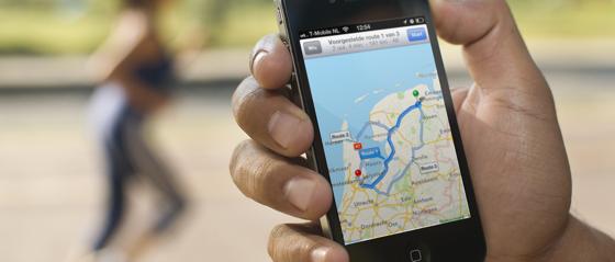 Kaarten-apps uitgelicht iPhone iOS