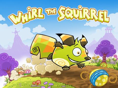 GU DO header Whirl the Squirrel iOS