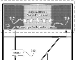 apple navigatie patent