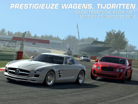 Real Racing 3 Mercedes en Bentley