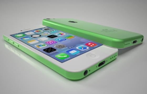 Budget iPhone uitgevoerd in groen
