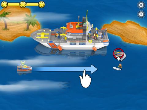 GU DI Lego City Rapid Rescue iPad screen