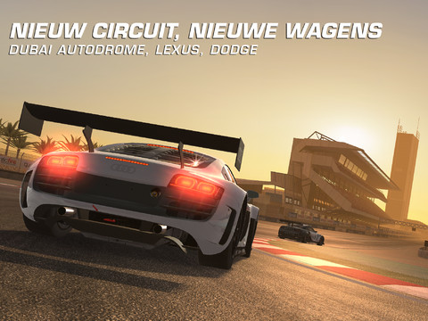 GU MA Real Racing 3 vorige nieuwe auto