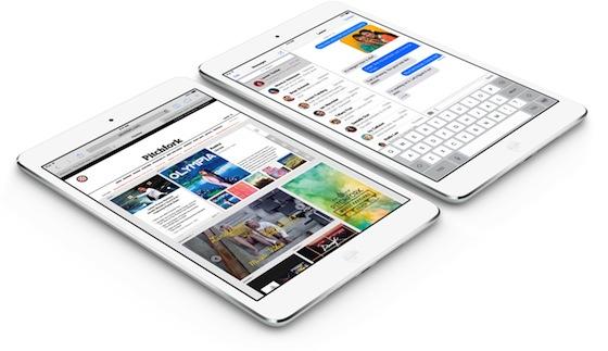 iPad mini Safari iMessage