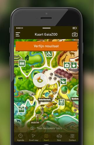 GaiaZOO op de iPhone