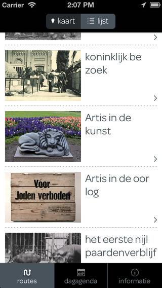 artis app iphone 2