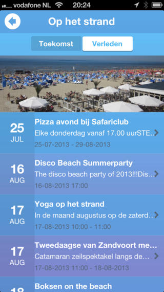 Zandvoort App iPhone strandapps