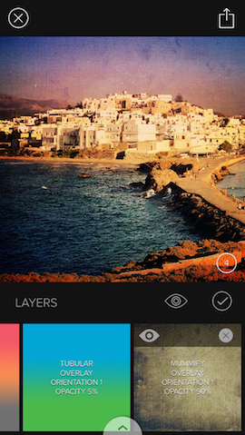 Fotofilter apps iPhone Mextures