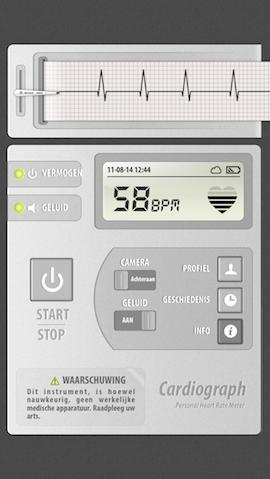 EHBO apps iPhone Cardiograaf