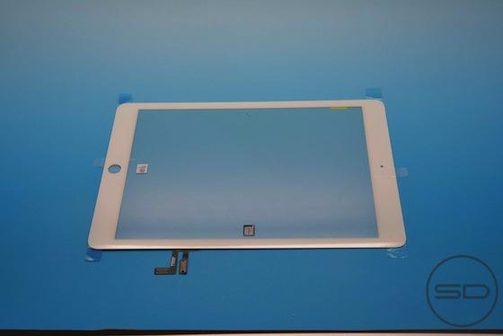 iPad 5 voorkant wit