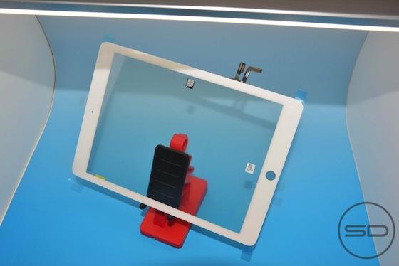 iPad 5 voorkant wit schuin