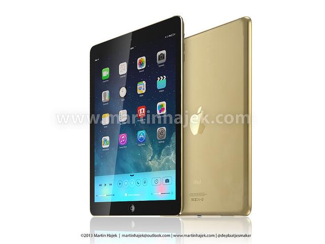 Martin Hajek gouden iPad 5