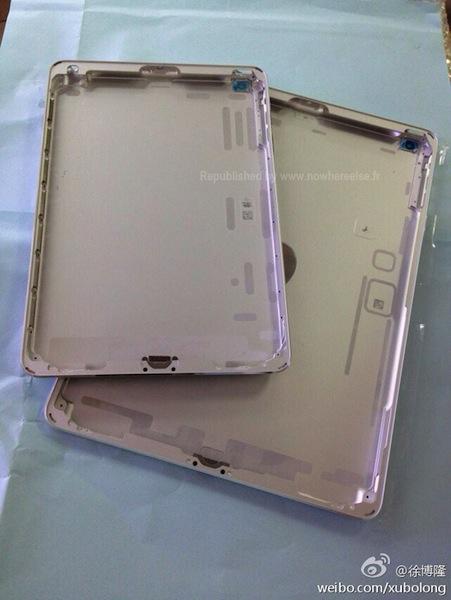 iPad 5 zilver voorkant