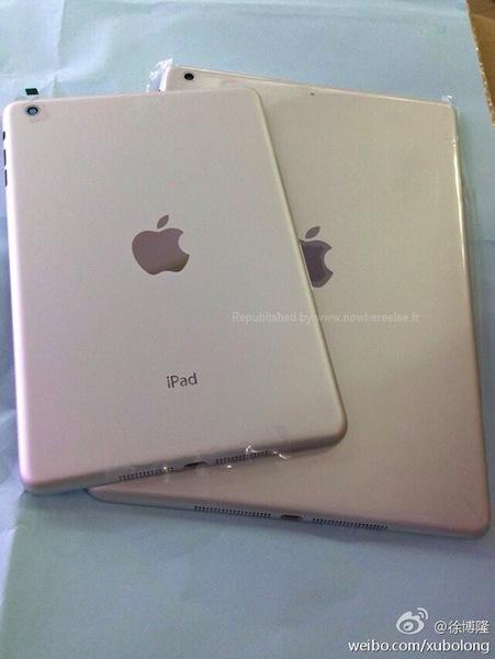 iPad 5 zilver achterkant