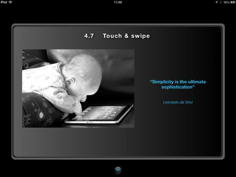 touch en swipe