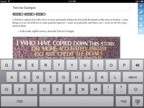 As Noted tekstverwerker iPad