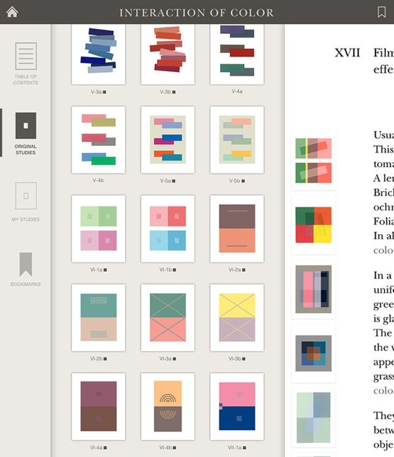interaction color albers