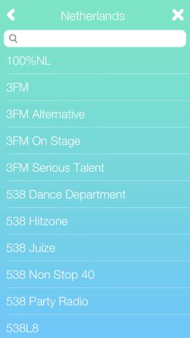 JustFM Nederlands zenderoverzicht