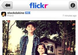 Flickr header iPhone nieuwe camera